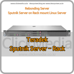(테라덱 본드) Teradek Sputnik Server - Rack mount형